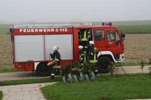 Feuerwehrübung 2014